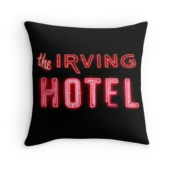 The Irving Hotel in Lights