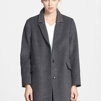 Topshop 'Maisie' Top Coat (Nordstrom Exclusive)