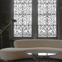Delia Shades | Shades | French Wrought Iron