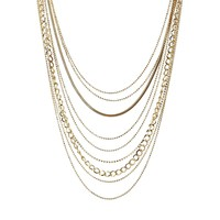 Designsix Multirow Manhattan Necklace