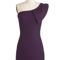 Shoulder Me How Dress in Violet | ModCloth.com