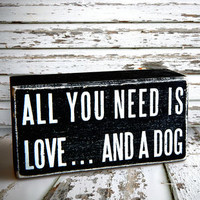 Box Art: All You Need Is Love…And A Dog