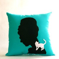 Audrey Hepburn Breakfast at Tiffanys Pillow NEW by regansbrain