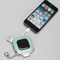 Solar Power Bank Keychain - Urban Outfitters
