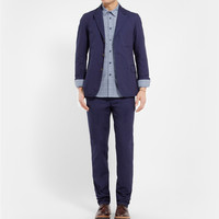 Oliver Spencer - Bampton Unstructured Dobby-Cotton Blazer | MR PORTER