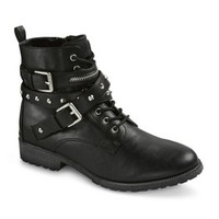 Women's Mossimo Supply Co. Harmony Combat Boots - Black