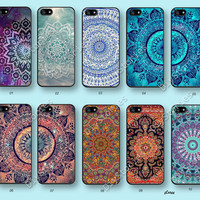 Mandala, Phone cases, iPhone 5 case, iPhone 5S 5C Case, Minority Totem, iPhone 4/4S Case, Samsung Galaxy S3 S4 S5, Note 2 3, 5C0244