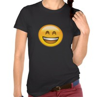 EMOJI SMILING FACE WITH OPEN MOUTH AND SMILING EYE