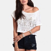 Kings Highway Studded Crop Top