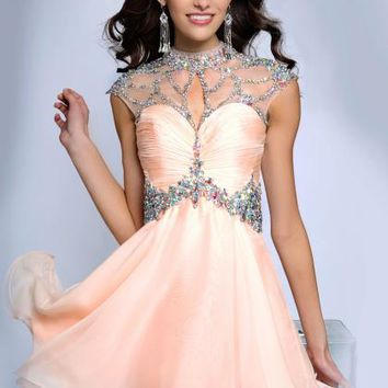 JVN by Jovani Homecoming JVN90399 at Peaches Boutique