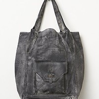 Free People Womens Molina Distressed Bag - Grey, One