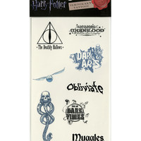 Harry Potter Temporary Tattoos
