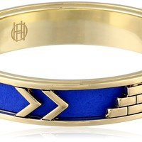 House of Harlow 1960 Aztec Cobalt Bangle Bracelet