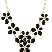 All Opaque Teardrop Y-Shaped Necklace