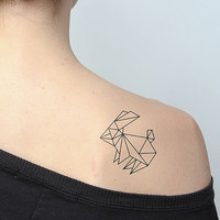 Hop to It - Temporary Tattoo (Set of 2)