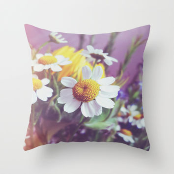 Sweet Throw Pillow by DuckyB (Brandi)