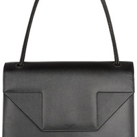 Saint Laurent | Betty Jumbo textured-leather shoulder bag | NET-A-PORTER.COM