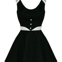 Black & White Short | DRESS*