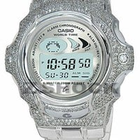 Ladies Jellin Cristall Custom Baby-G ZShock Bezel by ZShock | Karmaloop.com - Global Concrete Culture