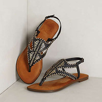 Salt Spring Sandals by Anthropologie Black