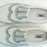 Marc Jacobs x Vans Wingtip Classic Slip-on