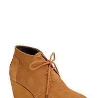 TOMS 'Desert' Wedge Bootie (Women)