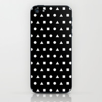 Black And White #2 iPhone & iPod Skin by Ornaart