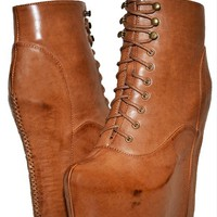 Jeffrey Campbell damsel brown