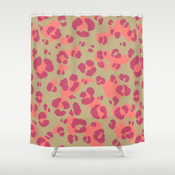 Leopard Print #2 Shower Curtain by Ornaart