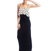 Stripe Tank Maxi Dress | Wet Seal