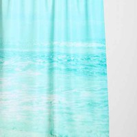 Lisa Argyropoulos For DENY Where Ocean Meets Sky Shower Curtain - Urban Outfitters