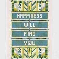Happiness Will Find You Poster