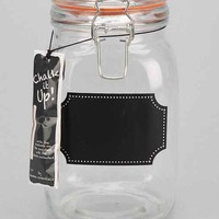 Tall Chalkboard Label Canister