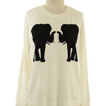 White Elephant Sweater