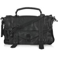 Proenza Schouler|PS1 Medium leather satchel |NET-A-PORTER.COM
