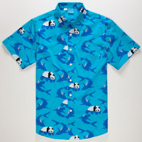Enjoi Shark Top Mens Shirt Blue  In Sizes