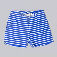 Polo Ralph Lauren Mainship Trunk (Royal Stripe) | Oi Polloi
