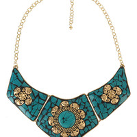 Crackled Collar Necklace | FOREVER21 - 1000038658