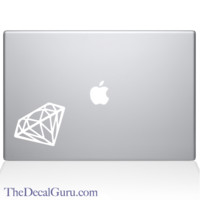 Diamond Macbook Decal