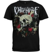 Bullet For My Valentine - Skull & Roses T-Shirt