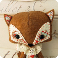 Woodland Fox PDF Pattern | Luulla