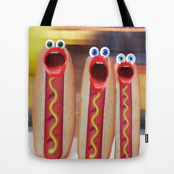 Weenie People Tote Bag by Gravityx9