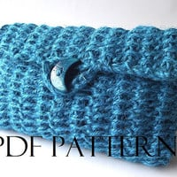 CROCHET BAG PATTERN Purse Bag Pouch Bag Crochet Clutch Bag