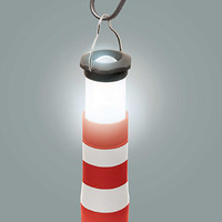 Kikkerland Design Inc » Products » Lighthouse Lantern Flashlight