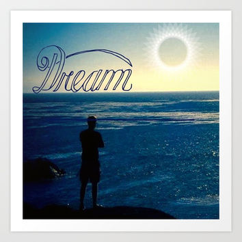Dream Art Print by Laura Santeler
