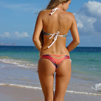 Create Your Own: LIHUE Brazilian Adjustable Bikini Bottoms with Shells