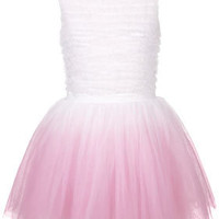 **Dip Dye Ruffle Prom by Dress Up Topshop - New In This Week - New In - Topshop