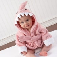 Adorable Baby Shark Robe