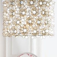&quot;Rosette&quot; Capiz Chandelier - Neiman Marcus