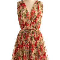 Always in Motion Dress | Mod Retro Vintage Printed Dresses | ModCloth.com